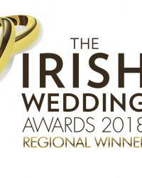 Regional Winner Logo Irish Wedding Awards 2018