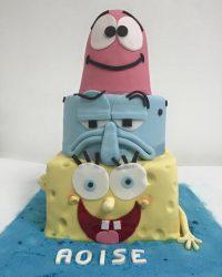 Sponge bob square pantsCake