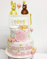 toy box chrsitening cake