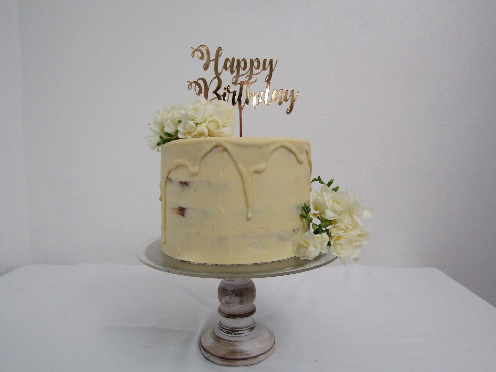 Outstanding Drip Semi Naked The Kerry Cake Company Funny Birthday Cards Online Elaedamsfinfo